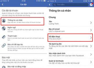 doi so dien thoai facebook tren dien thoai