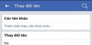 doi ten nick facebook 2019
