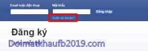 lay lai mat khau facebook nho ban be
