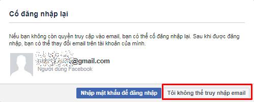 lay lai mat khau facebook bi mat email