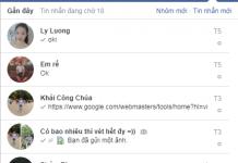 doc tin nhan facebook khong can mat khau