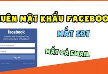 lay lai mat khau facebook bi mat so dien thoai