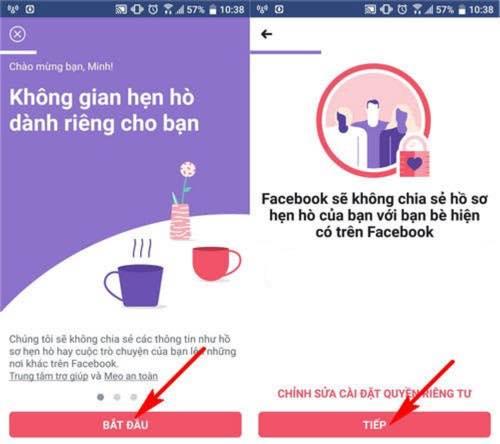 bật tính năng hẹn hò trên facebook