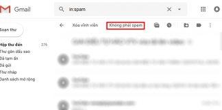 Lấy mã xác nhận facebook qua gmail