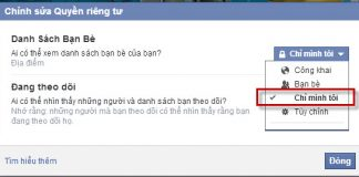 cach xem danh sach ban be bi an tren facebook