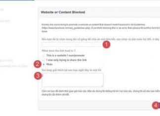 mở khóa khi website bị facebook chặn domain