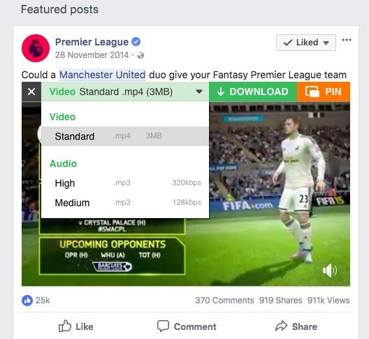 cách tải video facebook về máy tính 2019